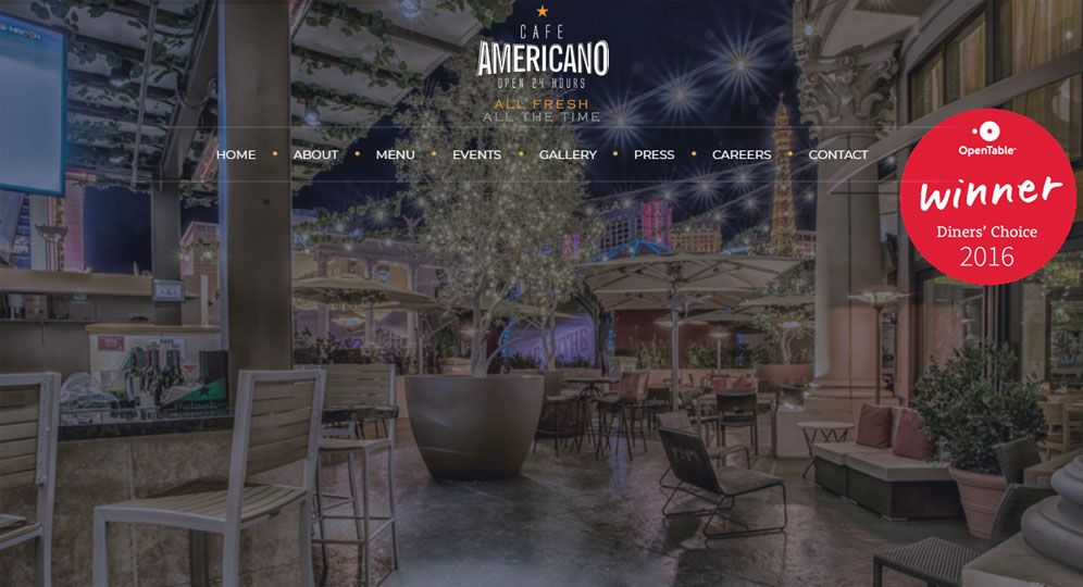 Cafe Americano Las Vegas
