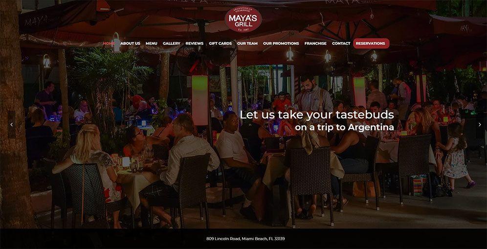Mayas grill