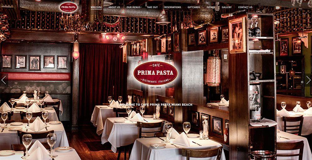 Cafe Prima Pasta